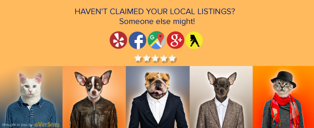 Haven't claimed your local listings? eVetSites can help!